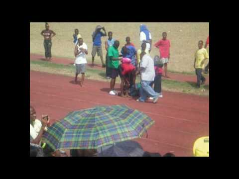 Teacher Fall At Jennings Secondary School Sports Day