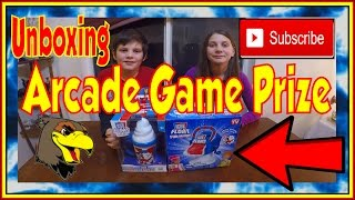 🎁 Unboxing ARCADES GAME PRIZE Wins | ICEE FLOAT FUN MACHINE | Ice Cream Maker Winners Hawkes Arcade