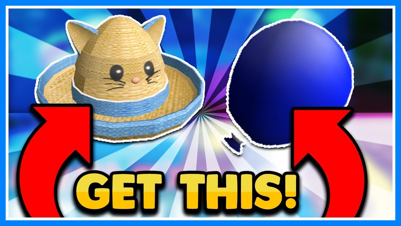 How To Get The Kitty Cat Straw Hat And Summertime Water Balloon