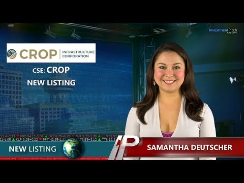 Crop Infrastructure Corp. (CSE:CROP) New Listing