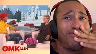 'OMKalen': Kalen Reacts to His First Ellen Appearance
