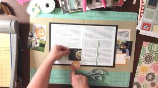 #27 (part 2) Scrapbook Process / The Layout / Nana And The Mailbox / Story Swoop