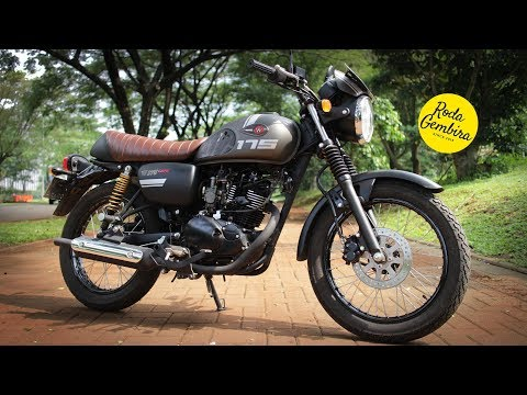 Motovlog Review Kawasaki W175 Cafe by Roda Gembira