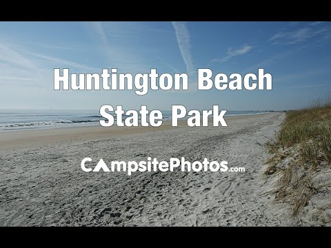 Huntington Beach State Park South Carolina Campsite Photos