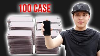NTNVlogs - Phá Huỷ Iphone Bằng 100 Ốp Lưng ( Destroy Iphone )