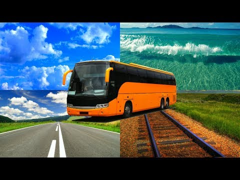 Изучаем транспорт и логику для детей. Угадай картинку - тесты для детей