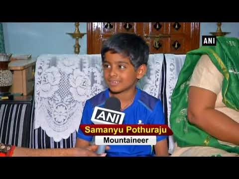 This 7 year old boy scaled Africa's highest peak Mt Kilimanjaro - ANI News