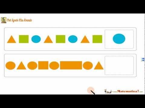 Seriaciones Patrones Y Secuencias Con Figuras Matematicas