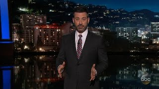 Jimmy Kimmel calls out lawmakers in emotional late-night monologue