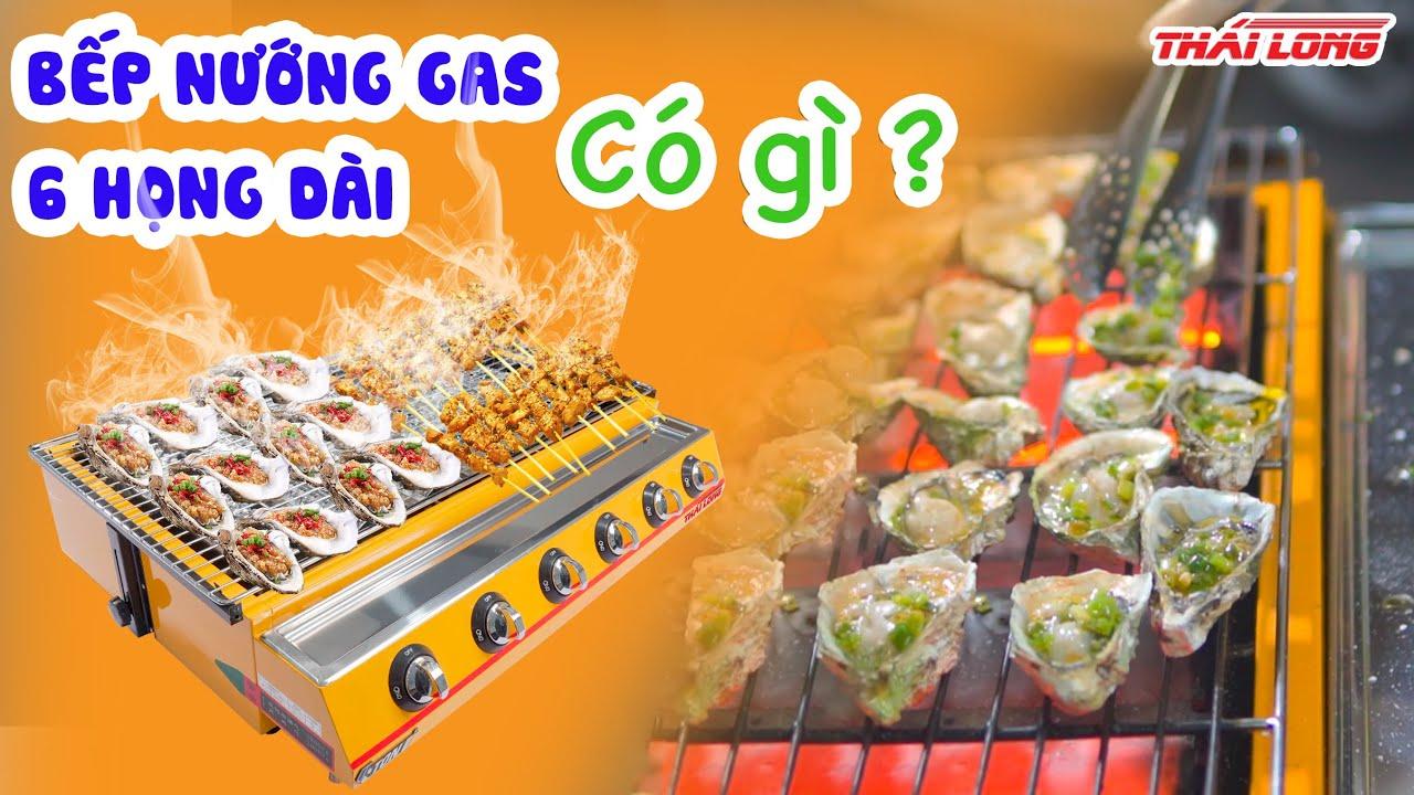 Mở hộp bếp nướng gas 6 họng dài của thương hiệu Eton   Thái Long