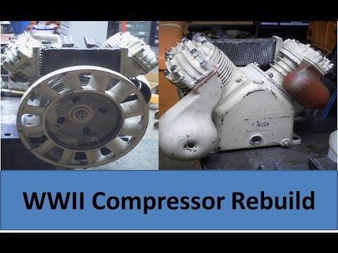 Rebuilding a WWII Air Compressor