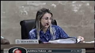 Audiência Pública LOA - 27.11.2017