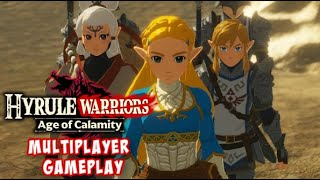 Multiplayer Gameplay Hyrule Warriors Age Of Calamity Youtube