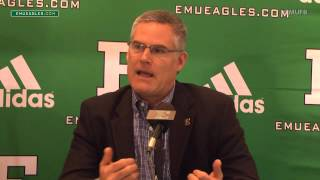 EMU Football Weekly Press Conference - Oct. 19, 2015