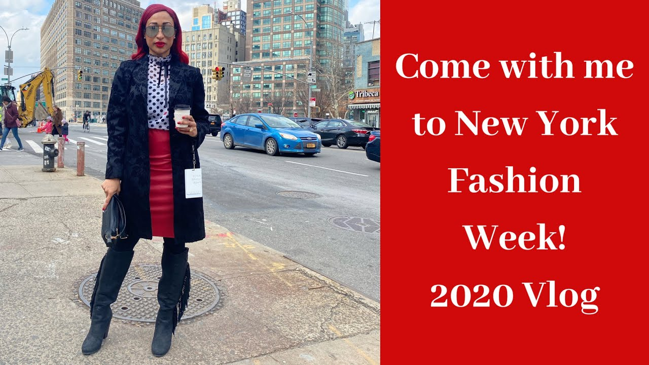 Come with me to new york fashion week!