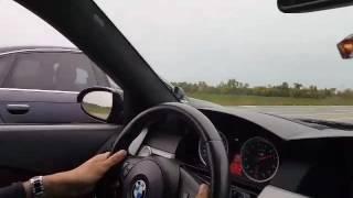 Drag Race! Bmw E60 M5 vs A6 3.0 TFSI (tuned)
