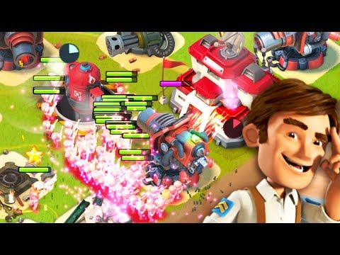 This is secretly an amazing troop combination! Boom Beach Gameplay!