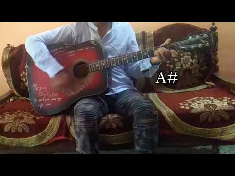"""""""Safar""""Song Of """"Bhuvan Bam""""/Easy Guitar Chords/Lesson/Tutorial/Guitar Cover/Without Capo & With Capo"""