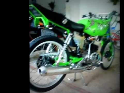 Suzuki AX 100 Racing nO Wiri El D' la Nota Alta ... ** The nO kAmU **