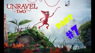 Unravel 2-Gameplay Walkthrough-Part 7 (At the rapids)