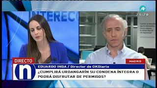 Eduardo Inda asegura que Urdangarin tiene trato de favor por IIPP