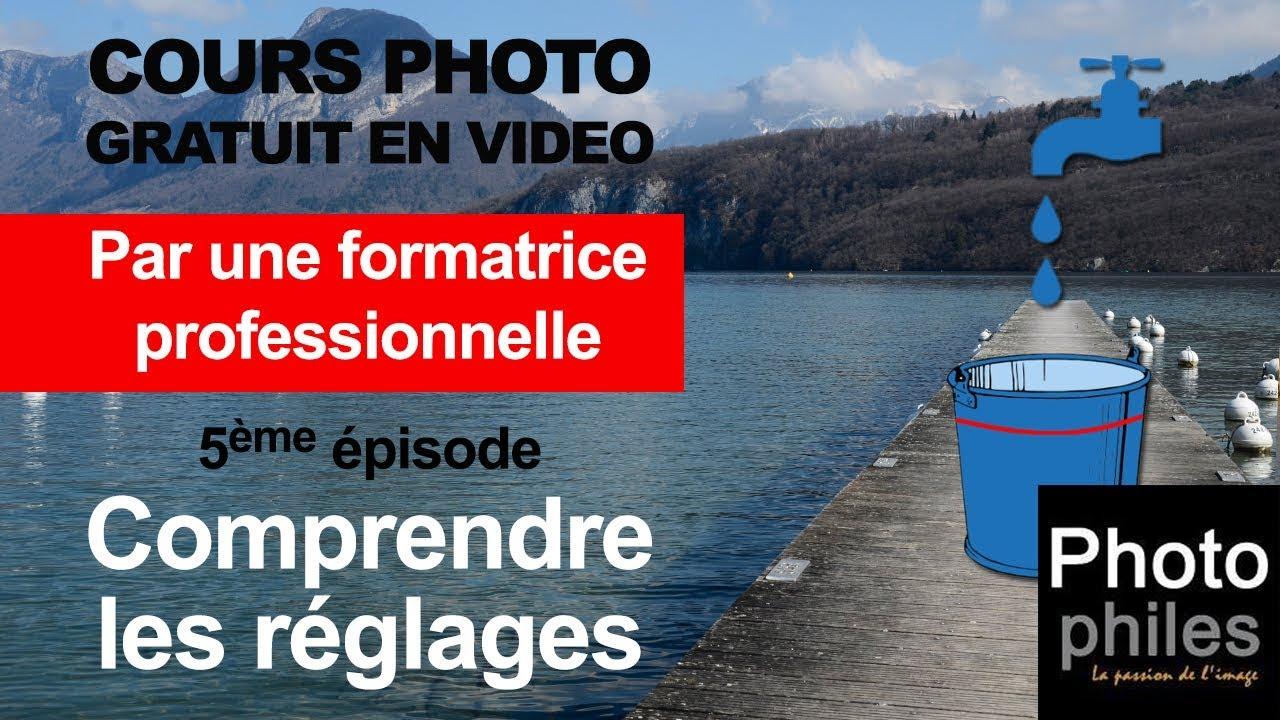N°5 Cours sur la PHOTOGRAPHIE. Ouverture, Vitesse, ISO Comprendre les réglages de votre appareil