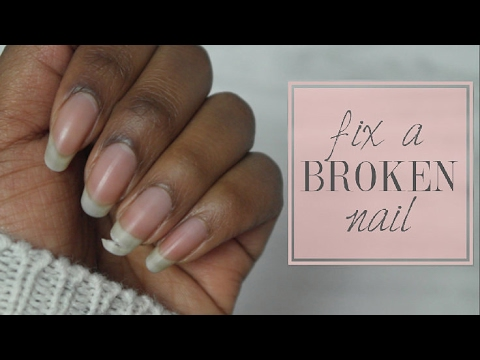 Fix A Broken Nail With Kiss Silk Wrap Repair Kit