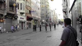 İnovatif Türk polisi! - 6 Temmuz 2013, Taksim-İstiklal