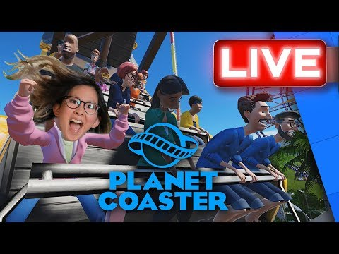 Rad Builds The Happiest Place On Earth In Planet Coaster! | Stream