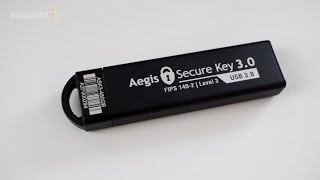 The Most Secure 480GB USB Flash Drive, Aegis Secure Key 3   Gadget Quickie #011