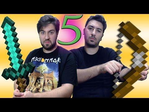 Minecraft Micro Battle Kapışmaları Bölüm 5
