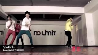 SpeXial - 【Super Style】官方舞蹈 75%放慢 教學版
