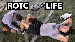 A Day In The Life of an ROTC Cadet | APFT Test