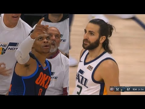 Ricky Rubio SHUTS UP RUSSELL WESTBROOK AND EXPOSES HIM AFTER HE SAID HE WOULD SHUT HIM DOWN!