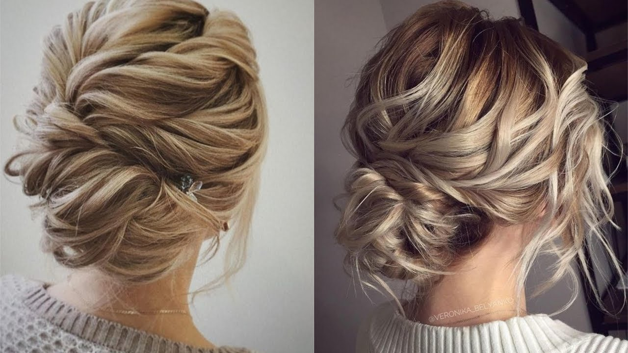 elegant bun hairstyles easy updo hairstyles| how to use bobby pins in right way