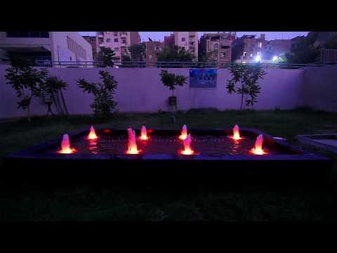 Graduation project (Dancing Fountain) Mataria Engineering , Helwan university 2017