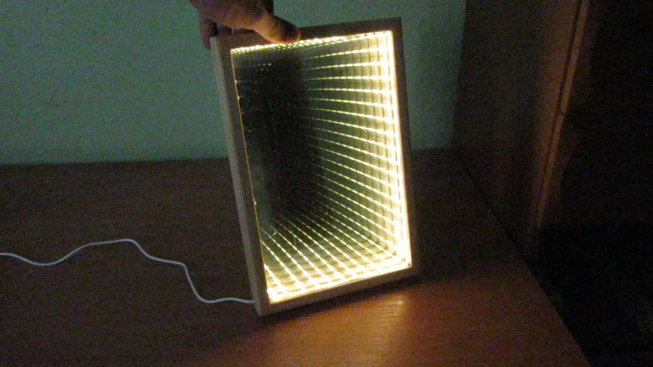 Making A Simply Led Infinity Mirror Youtube