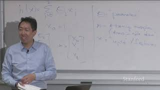 Lecture 2 - Linear Regression and Gradient Descent | Stanford CS229: Machine Learning (Autumn 2018)