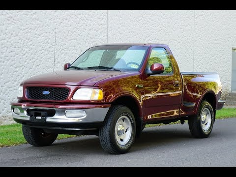 1997 Ford F 150 Step Side Bed 4x4 Off Road Pkg 5 Speed Manual Youtube