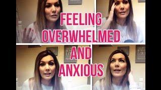 Feeling overwhelmed, anxious and a bit like a bad juggler!