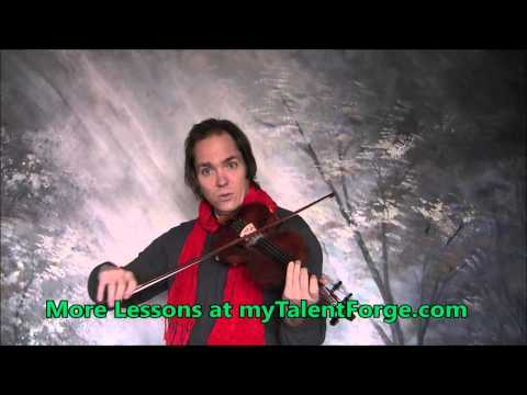 Greensleeves (What Child is This) Violin Lesson
