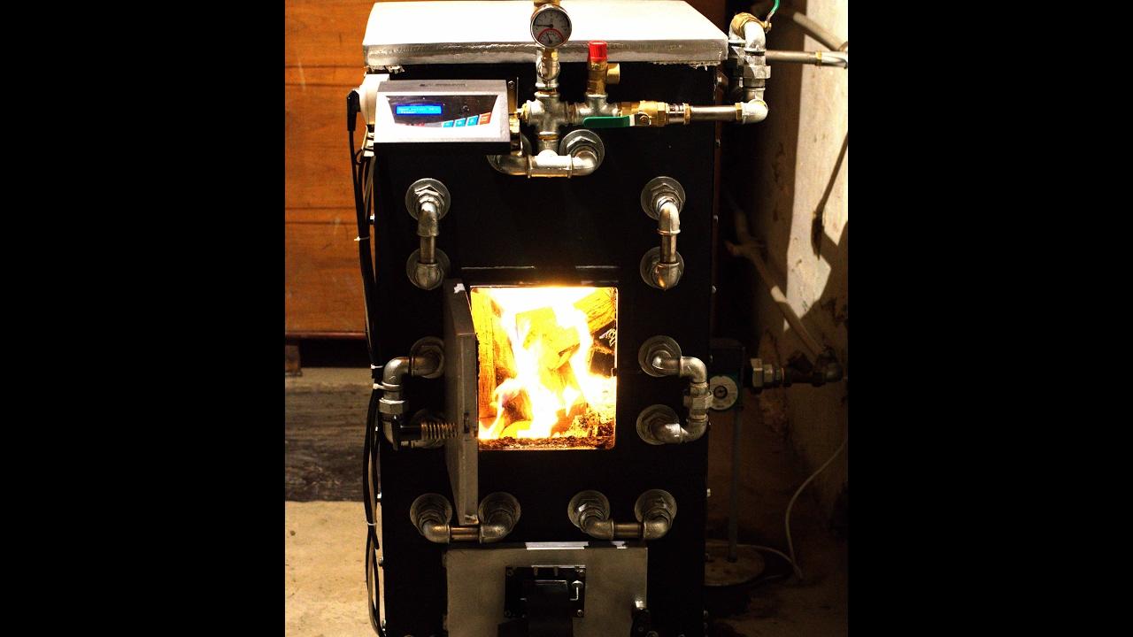 Надёжный теплообменник в печь из чугунных батарей- ПОТЁК - YouTube