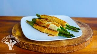 Turkey-wrapped Asparagus In 30 Seconds For Game Day / Esparrago Envuelto Con Pavo
