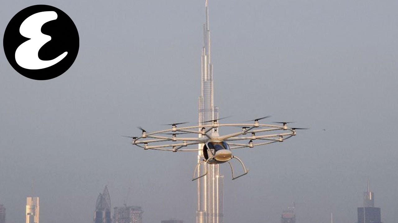 Dubai's flying taxi – the volocopter – takes first flight