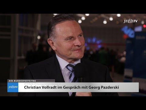 Im Interview: Georg Pazderski (JF-TV Direkt)