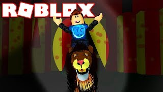 I AM A TRAPECISTA IN THE ROBLOX CIRCO !! - Roblox Obby Circus