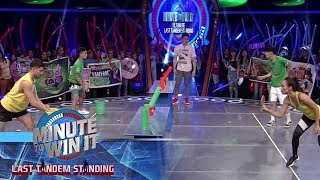 Pong Can | Minute To Win It - Last Tandem Standing