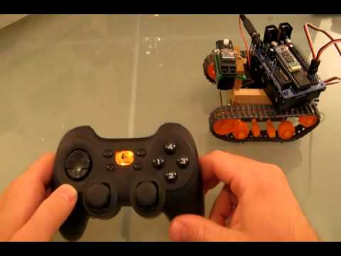 Joystick Control Robot Tutorial with DJ Sures