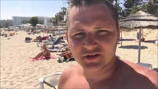 Пляж Нисси Бич Айя-Напа (Nissi Beach, Agia Napa, Cyprus) 10.05.2016 г.