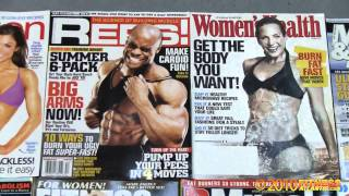 How to get on a cover of a fitness magazine Tip 1